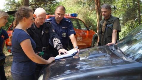 Bezpieczne wakacje. Służby skontrolowały obóz harcerski w Lipnicy