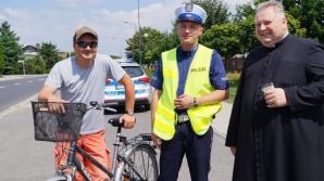 Ze św. Krzysztofem na drodze. Wspólna akcja policji i księży