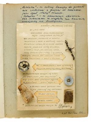 W licheńskim muzeum można znaleźć kilka pamiątek z powstania