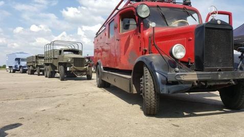 Koniński zabytkowy wóz strażacki zagrał w filmie W. Pasikowskiego