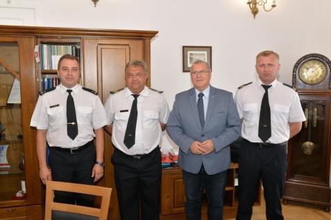 Prezydent spotkał się ze strażakami, którzy gasili pożary w Szwecji