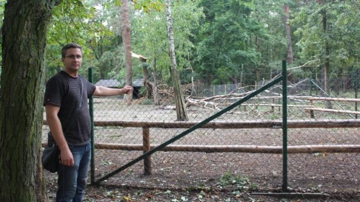 Konin. Wielkie sprzątanie po nawałnicy w parku miejskim