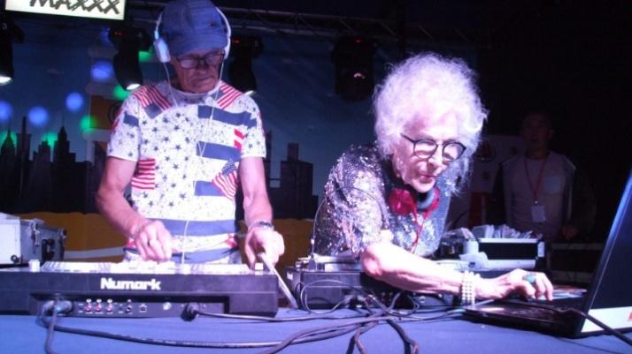DJ Wika świętowała 80-te urodziny na festiwalu w Ślesinie