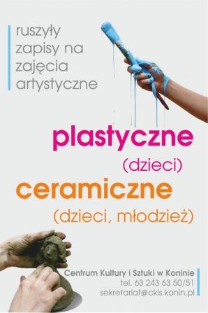 Ceramika i plastyka. Zapisy na zajęcia artystyczne