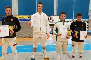 Szabliści zainaugurowali sezon dwoma medalami w Katowicach