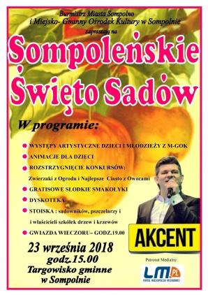 Sompoleńskie Święto Sadów z najlepszymi ciastami i konkursami