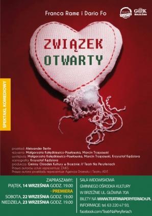 """""""Związek otwarty"""" w Teatrze na Peryferiach, czyli w GOK Brzeźno"""