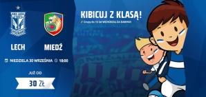 Ekstraklasa. Lech Poznań - Miedź Legnica: czas na rewanż (konkurs)
