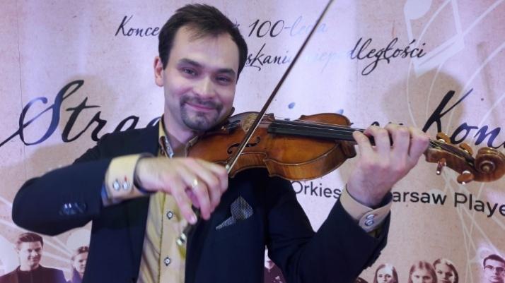 Janusz Wawrowski zagra w Koninie na 333-letnim Stradivariusie