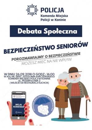 Konin. Debata społeczna na temat bezpieczeństwie osób starszych
