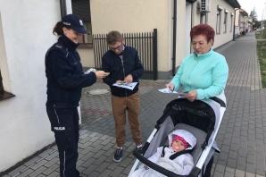 Policjanci o bezpieczeństwie rozmawiali w Grodźcu i Laskówcu