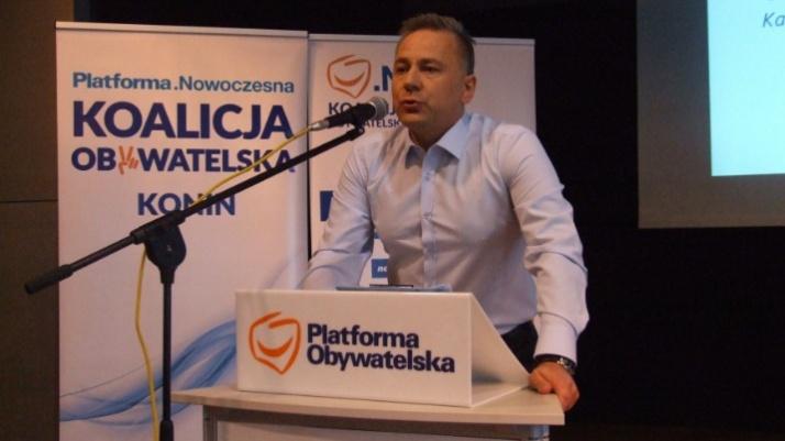 Konin. Piotr Korytkowski nie chce być malowanym prezydentem