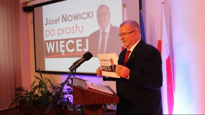 Józef Nowicki obiecuje po prostu więcej energii ze słońca