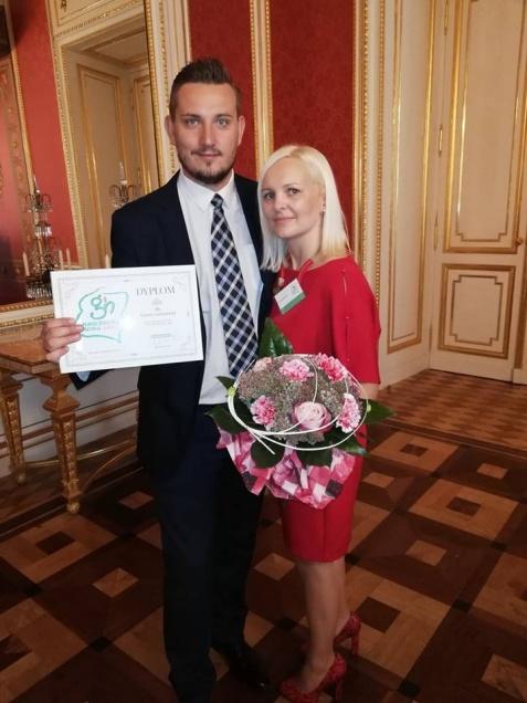 """Z ZSEU w Żychlinie na galę finałową konkursu """"Nauczyciel Roku"""""""