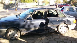 Wypadek w miejscowości Drążna. Zderzyły się dwa samochody