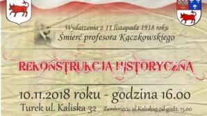 Turek. Organizacja ruchu w związku z rekonstrukcją historyczną