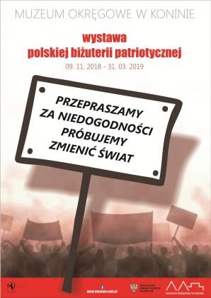 Wystawa polskiej biżuterii patriotycznej w Muzeum Okręgowym