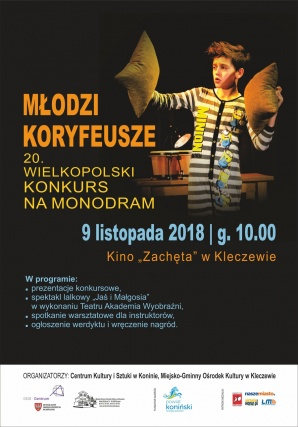 Młodzi Koryfeusze - Wielkopolski Konkurs na Monodram