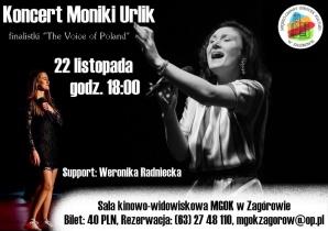W Zagórowie wystąpi Monika Urlik
