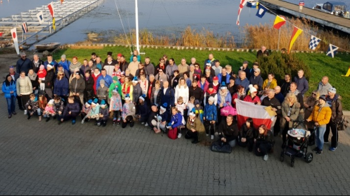 Konin. Morsy i żeglarze dla Polski hucznie uczcili 11 listopada