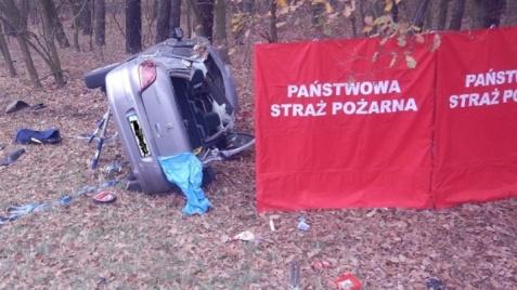 Śmiertelny wypadek w Dąbrowicach Starych. Zginęła jedna osoba