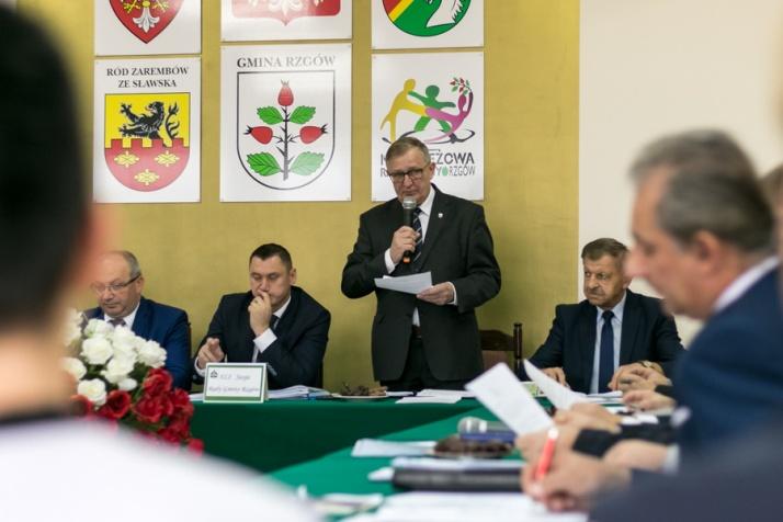 Rzgów. Radni i wójt dziękowali za współpracę w minionej kadencji