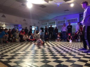 Tancerze z Konińskiego Domu Kultury na zawodach w Poznaniu