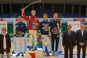 Szermierka. Złoto Mateusza Godlewskiego w Pucharze Europy U23!