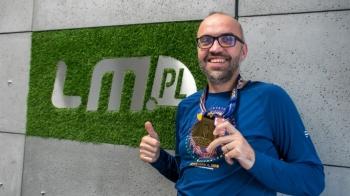 Marcin Janiak po maratonie w USA rusza z internetową aukcją