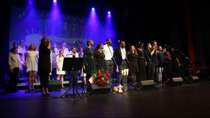 Koniński chór gospel śpiewająco obchodził swoje 15 urodziny