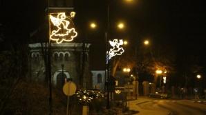 Stare Miasto. Iluminacje świąteczno - noworoczne do stycznia