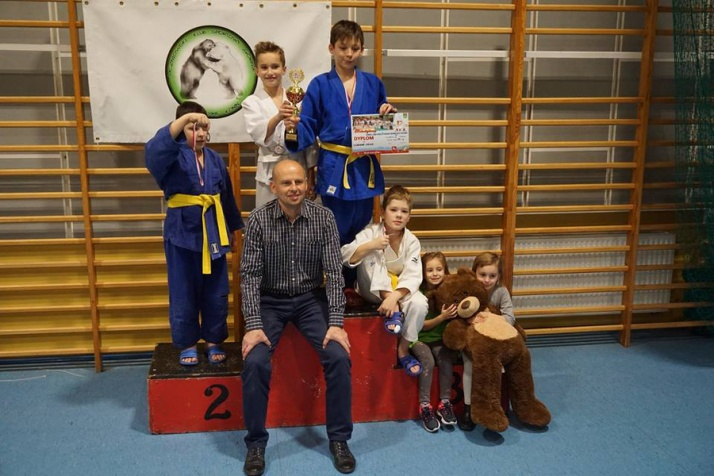Ślesin. 70 dzieci walczyło w Mikołajkowym Turnieju Judo
