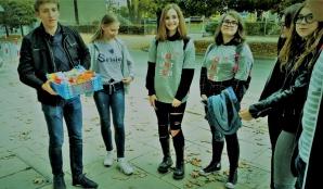 Guziki z Grzegorzewa. Młodzież realizuje projekt MY ZONE