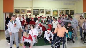 Ślesin. Mikołaj z alpakami pojawił się w Domu Pomocy Społecznej
