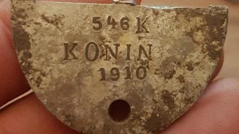 Nieśmiertelnik z Konina. Trwają poszukiwania rodziny żołnierza