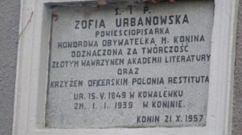 Konin. Prezydent ogłosił, że 2019 będzie rokiem Zofii Urbanowskiej