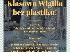 """""""Wigilia bez plastiku"""". Akcja z Żychlina stała się ogólnopolska"""