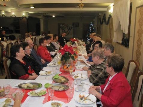 Stare Miasto. Seniorzy spotkali się na tradycyjnej kolacji wigilijnej