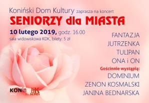 Seniorzy dla Konina. Występy czterech zespołów, duetu i solistów