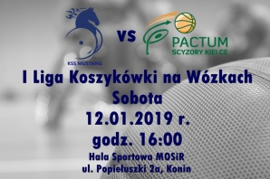 Sportowy weekend: Mustang podejmie Pactum Scyzory Kielce
