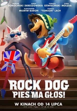 Rock Dog. Pies ma głos! - Ferie w Kinie Centrum