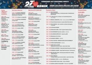Konin. WOŚP 2019 na sportowo. Turnieje, pokazy i bieg
