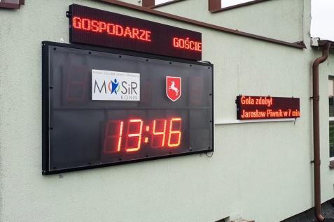 Nowa tablica została zamontowana na stadionie przy ul. Łężyńskiej