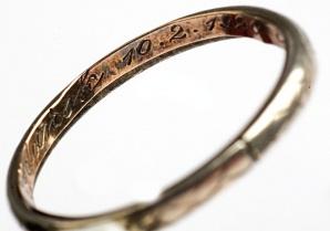 Obrączka z zaślubin Polski z morzem jest w licheńskim muzeum