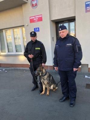 Policyjny pies w służbie. Gordon będzie patrolował ulice Koła