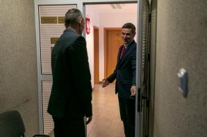 Godzinę był burmistrzem. Pan Krzysztof wygrał licytację WOŚP