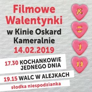 Filmowe Walentynki w kinie Oskard
