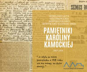 Pamiętniki Karoliny Kamockiej