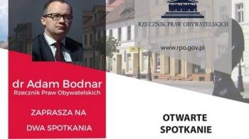 Adam Bodnar przyjedzie do Konina i Turku w połowie marca