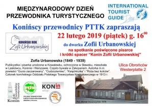 O Zofii Urbanowskiej podczas Dnia Przewodnika Turystycznego